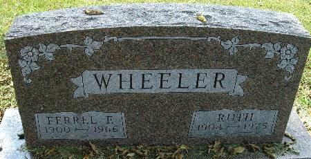 WHEELER, RUTH - Black Hawk County, Iowa | RUTH WHEELER