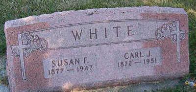 WHITE, CARL J. - Black Hawk County, Iowa   CARL J. WHITE