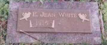 WHITE, E. JEAN - Black Hawk County, Iowa | E. JEAN WHITE