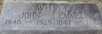 WHITE, EMMELINE - Black Hawk County, Iowa | EMMELINE WHITE