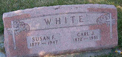 WHITE, SUSAN F. - Black Hawk County, Iowa   SUSAN F. WHITE