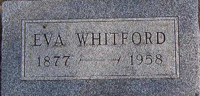 WHITFORD, EVA - Black Hawk County, Iowa   EVA WHITFORD