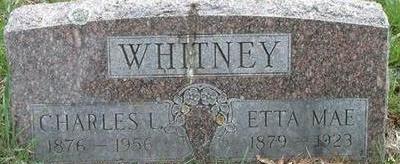 WHITNEY, ETTA MAE - Black Hawk County, Iowa | ETTA MAE WHITNEY
