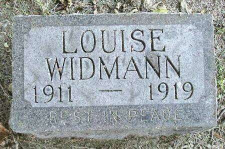 WIDMANN, LOUISE - Black Hawk County, Iowa | LOUISE WIDMANN