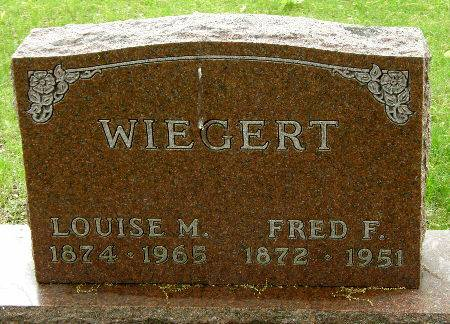 WIEGERT, LOUISE M. - Black Hawk County, Iowa | LOUISE M. WIEGERT