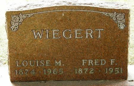 WIEGERT, LOUISE M. - Black Hawk County, Iowa | LOUISE M. WIEGERT