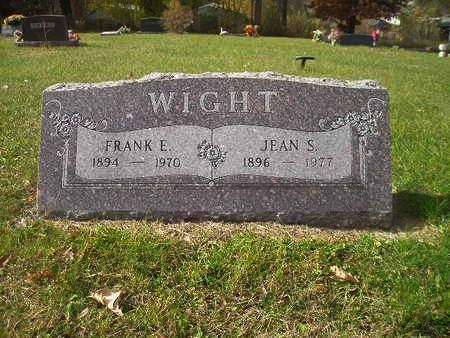WIGHT, JEAN S - Black Hawk County, Iowa | JEAN S WIGHT