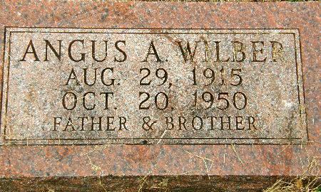 WILBER, ANGUS A. - Black Hawk County, Iowa | ANGUS A. WILBER