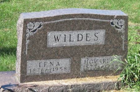 WILDES, HOWARD - Black Hawk County, Iowa   HOWARD WILDES