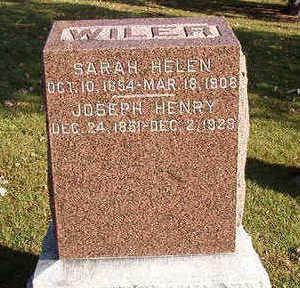 WILER, JOSEPH HENRY - Black Hawk County, Iowa   JOSEPH HENRY WILER