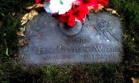 GRIEFNOW WILKINS, ELSIE - Black Hawk County, Iowa   ELSIE GRIEFNOW WILKINS