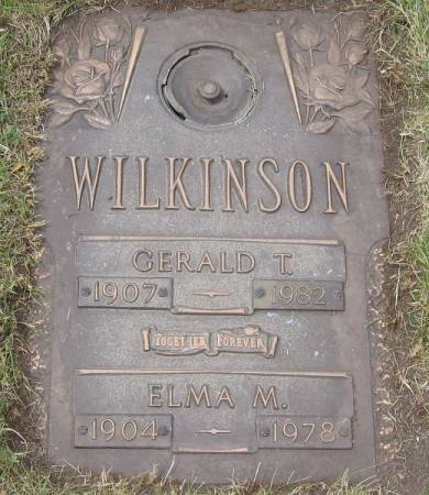 WILKINSON, GERALD THOMAS - Black Hawk County, Iowa   GERALD THOMAS WILKINSON