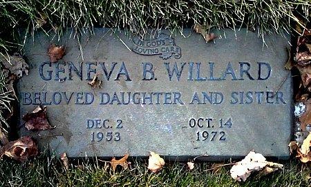 WILLARD, GENEVA B. - Black Hawk County, Iowa | GENEVA B. WILLARD