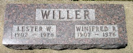 WILLER, WINIFRED R. - Black Hawk County, Iowa | WINIFRED R. WILLER