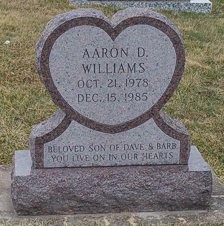 WILLIAMS, AARON D. - Black Hawk County, Iowa   AARON D. WILLIAMS