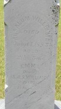 WILLIAMS, EMMA - Black Hawk County, Iowa | EMMA WILLIAMS