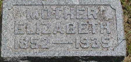 WILLIAMS, ELIZABETH - Black Hawk County, Iowa | ELIZABETH WILLIAMS