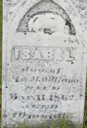WILLIAMS, ISABEL - Black Hawk County, Iowa   ISABEL WILLIAMS