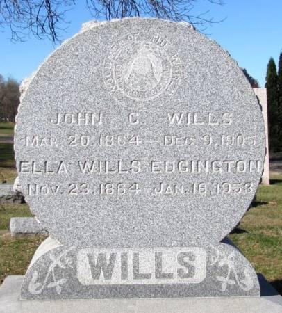 WILLS EDGINGTON, ELLA - Black Hawk County, Iowa | ELLA WILLS EDGINGTON