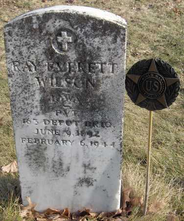 WILSON,  PVT. RAY EVERETT - Black Hawk County, Iowa |  PVT. RAY EVERETT WILSON