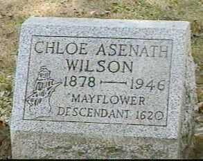 WILSON, CHLOE ASENATH - Black Hawk County, Iowa | CHLOE ASENATH WILSON