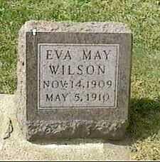 WILSON, EVA MAY - Black Hawk County, Iowa   EVA MAY WILSON