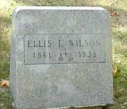 WILSON, ELLIS E. - Black Hawk County, Iowa | ELLIS E. WILSON