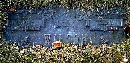 WILSON, VELMA I. - Black Hawk County, Iowa | VELMA I. WILSON
