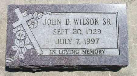 WILSON, SR., JOHN D. - Black Hawk County, Iowa | JOHN D. WILSON, SR.