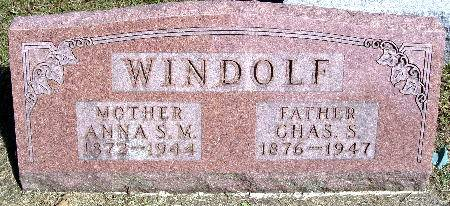 WINDOLF, CHAS. S. - Black Hawk County, Iowa | CHAS. S. WINDOLF