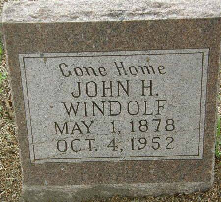 WINDOLF, JOHN H. - Black Hawk County, Iowa | JOHN H. WINDOLF