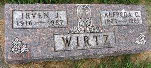 WIRTZ, IRVEN J. - Black Hawk County, Iowa | IRVEN J. WIRTZ