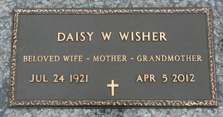 WISHER, DAISY W. - Black Hawk County, Iowa | DAISY W. WISHER