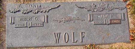 WOLF, ALBERT G. - Black Hawk County, Iowa | ALBERT G. WOLF