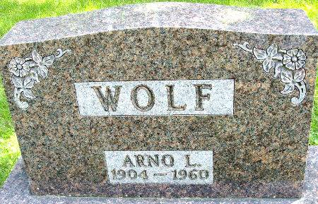 WOLF, ARNO L. - Black Hawk County, Iowa | ARNO L. WOLF