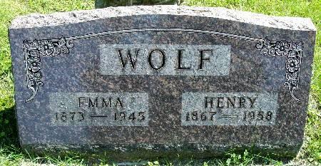 WOLF, EMMA - Black Hawk County, Iowa | EMMA WOLF