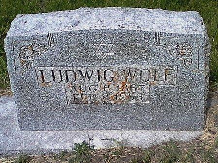 WOLF, LUDWIG - Black Hawk County, Iowa | LUDWIG WOLF