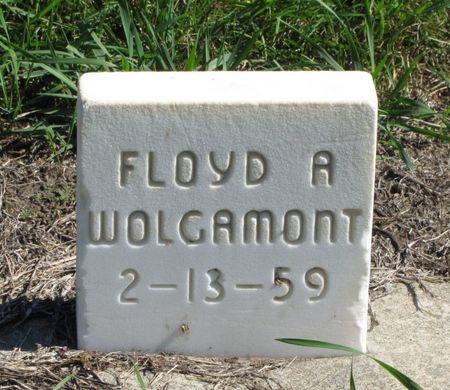 WOLGAMONT, FLOYD A. - Black Hawk County, Iowa | FLOYD A. WOLGAMONT