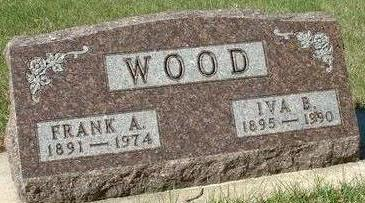SEUFFERLEIN WOOD, IVA BLANCHE - Black Hawk County, Iowa | IVA BLANCHE SEUFFERLEIN WOOD