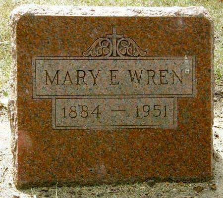 WREN, MARY E. - Black Hawk County, Iowa | MARY E. WREN