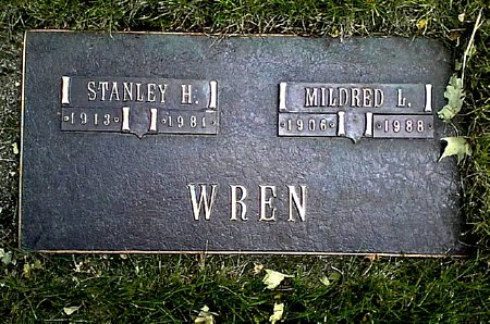WREN, STANLEY H. - Black Hawk County, Iowa   STANLEY H. WREN