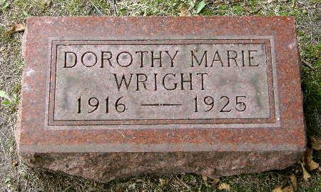 WRIGHT, DOROTHY MARIE - Black Hawk County, Iowa | DOROTHY MARIE WRIGHT