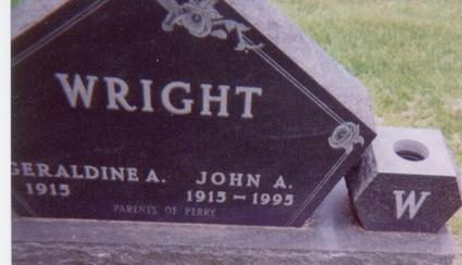 WRIGHT, GERALDINE - Black Hawk County, Iowa | GERALDINE WRIGHT