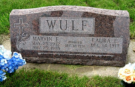 WULF, MARVIN F. - Black Hawk County, Iowa | MARVIN F. WULF