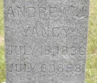 YANCY, ANDREW J. - Black Hawk County, Iowa | ANDREW J. YANCY