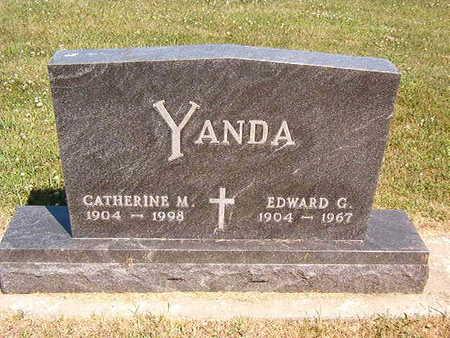 YANDA, CATHERINE M. - Black Hawk County, Iowa | CATHERINE M. YANDA