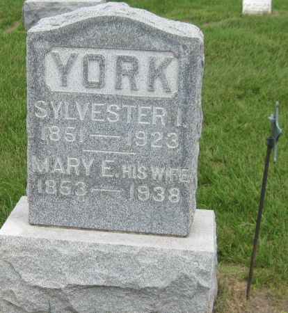 YORK, MARY E. - Black Hawk County, Iowa | MARY E. YORK