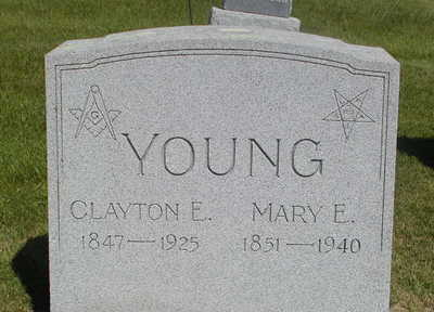 YOUNG, MARY E. - Black Hawk County, Iowa | MARY E. YOUNG