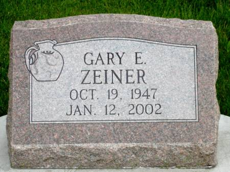 ZEINER, GARY E. - Black Hawk County, Iowa | GARY E. ZEINER