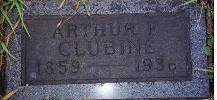 CLUBINE, ARTHUR F. - Black Hawk County, Iowa   ARTHUR F. CLUBINE